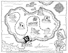 Pirate-Treasure-Map-Coloring-Page